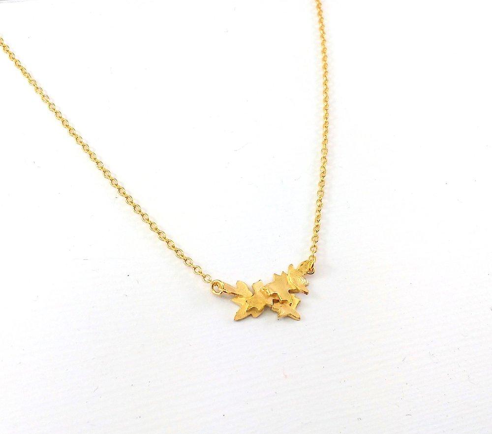Golden Blossom pendant $175