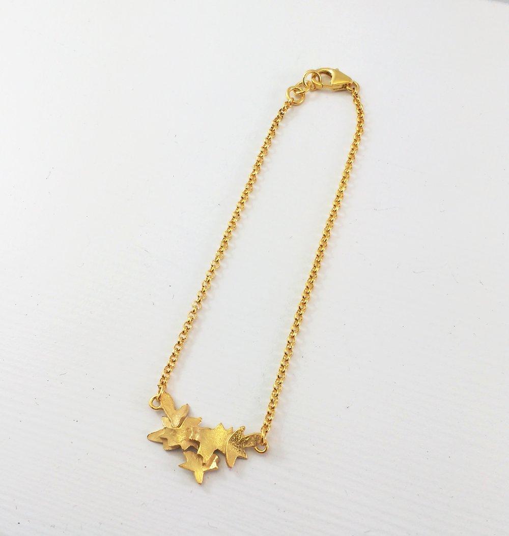 Golden Blossom bracelet $175