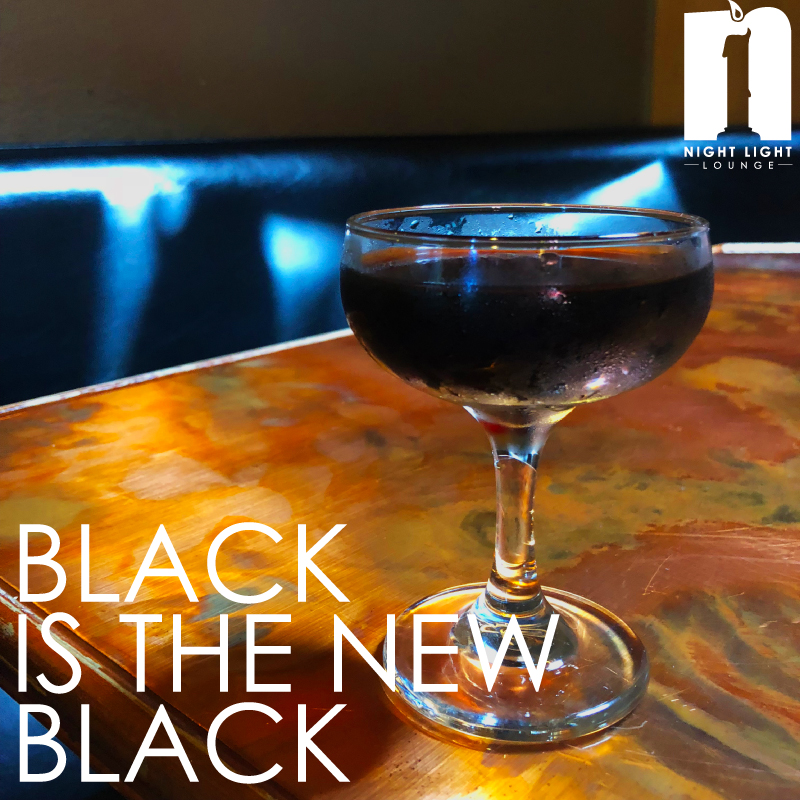 Black is the new black  Slane Irish Whiskey, Fernet Vallet, and Stumptown Cold Brew, served up