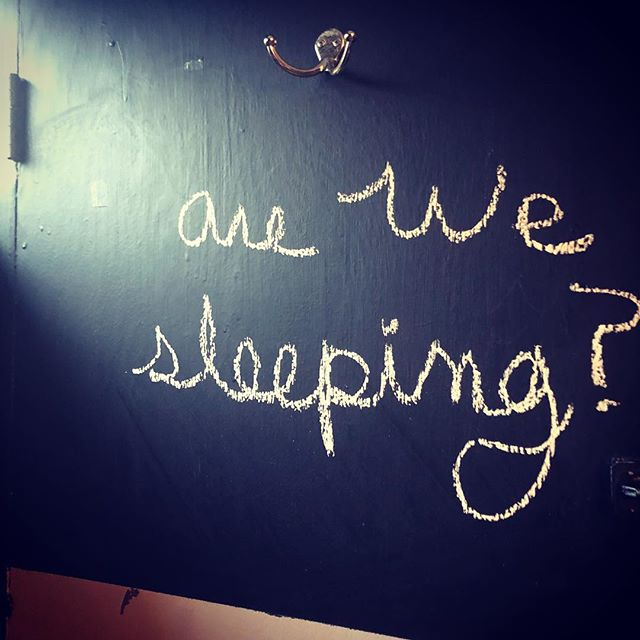 No sleeping at the bar! #arewesleeping  #chalkfromlastnight . . . #pdxnow #pdxdrinks #pdxeats #traveloregon #sepdx #clintonstreet #stnl #cocktails #cocktail #northwest #eater #eaterpdx #nightlight #nightlightlounge #pdx #oregon #portland #portlandoregon #portlandnw #portlanddrinks #do503 #travelportland #pdxpipeline #discoverportland #pdxmusic #pdxbars