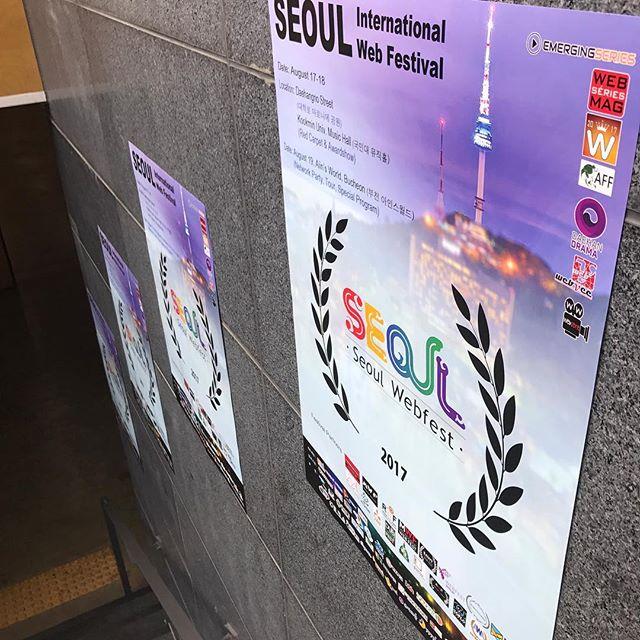 Day 1 ☝🏾 @thesidechicktv @kwebfest #TheSideChick #noelbrahamentertainment #lyndontreestudios #perfecttake #korea #comedy #series