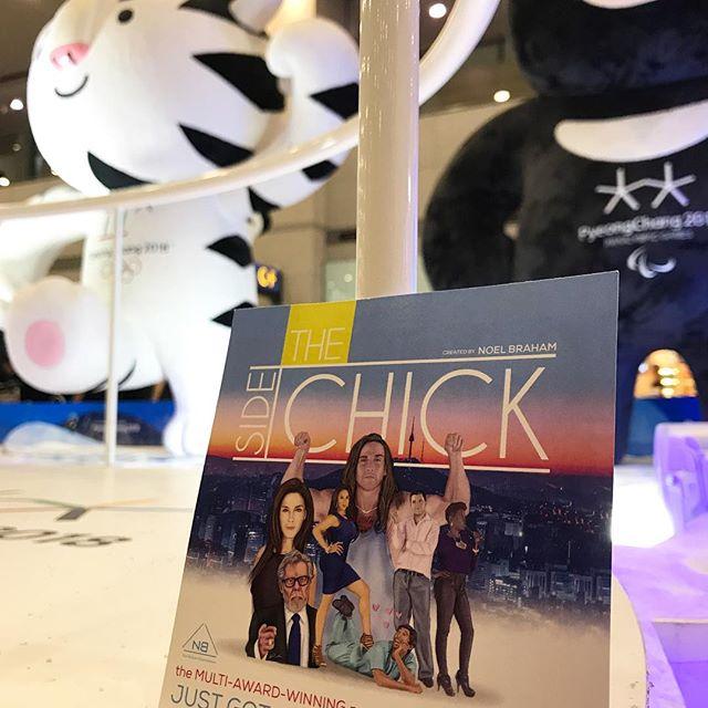 Light it up 🔥🇰🇷 @kwebfest #TheSideChick #NoelBrahamEntertainment #natenelsonvisuals #lyndontreestudios #pokeyspearsproductions #perfecttake #series #newmedia