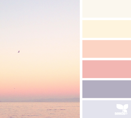 Use this color palette as a guide when selecting your fabrics.