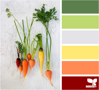 "Our color palette ""Freshly Picked"""