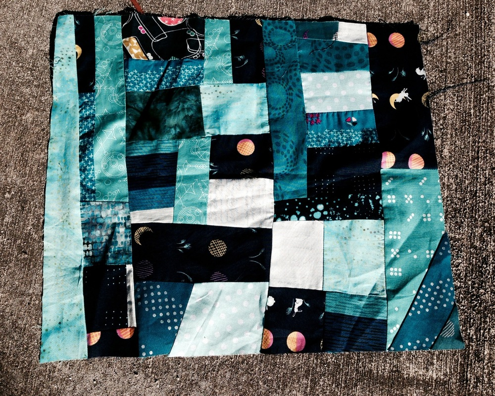 Sample of our first block by Patti Auten
