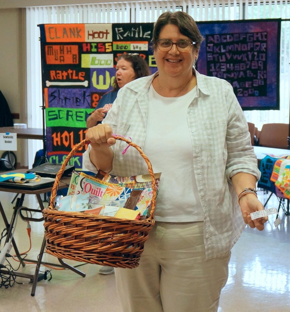 Basket winner Deborah Krajkowski