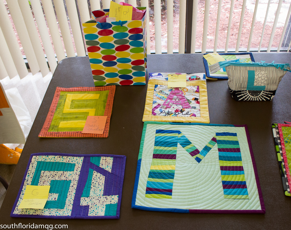 Monograms swap creativity
