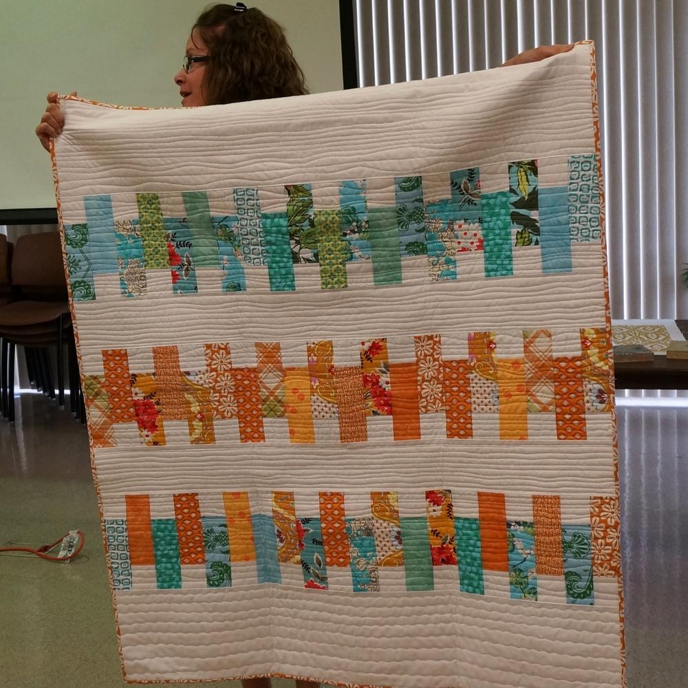 Community service quilt - Susan DiBartolo