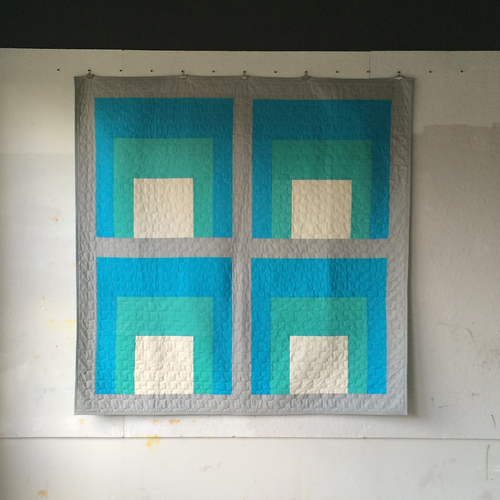 """Anni"" - a quilt by Heather Jones"