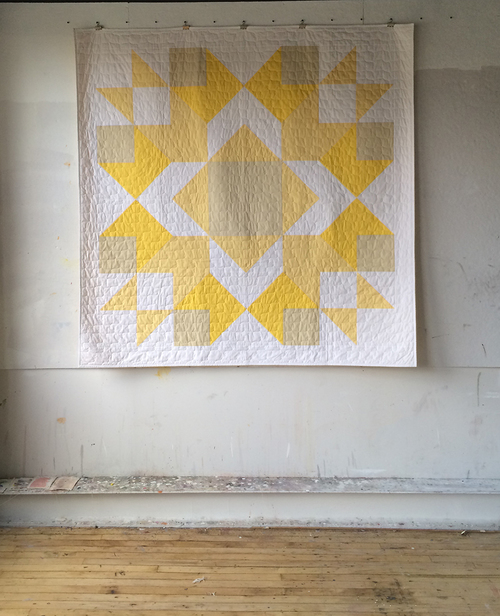 """Radiance"" - a quilt by Heather Jones"