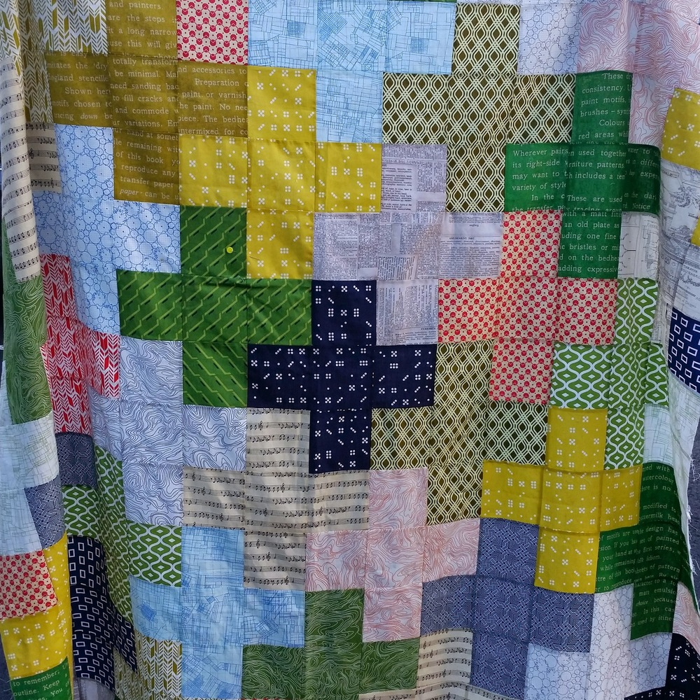 Plus quilt (Ivy Bagnall)