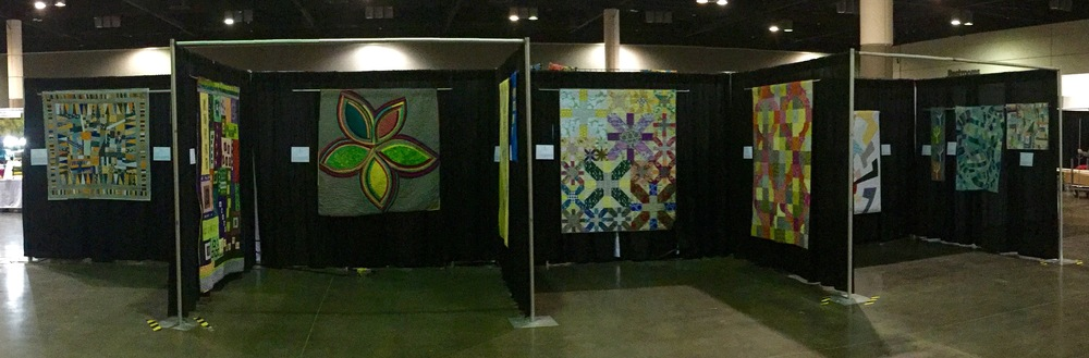 SFMQG exhibit at World Quilt Florida 2016