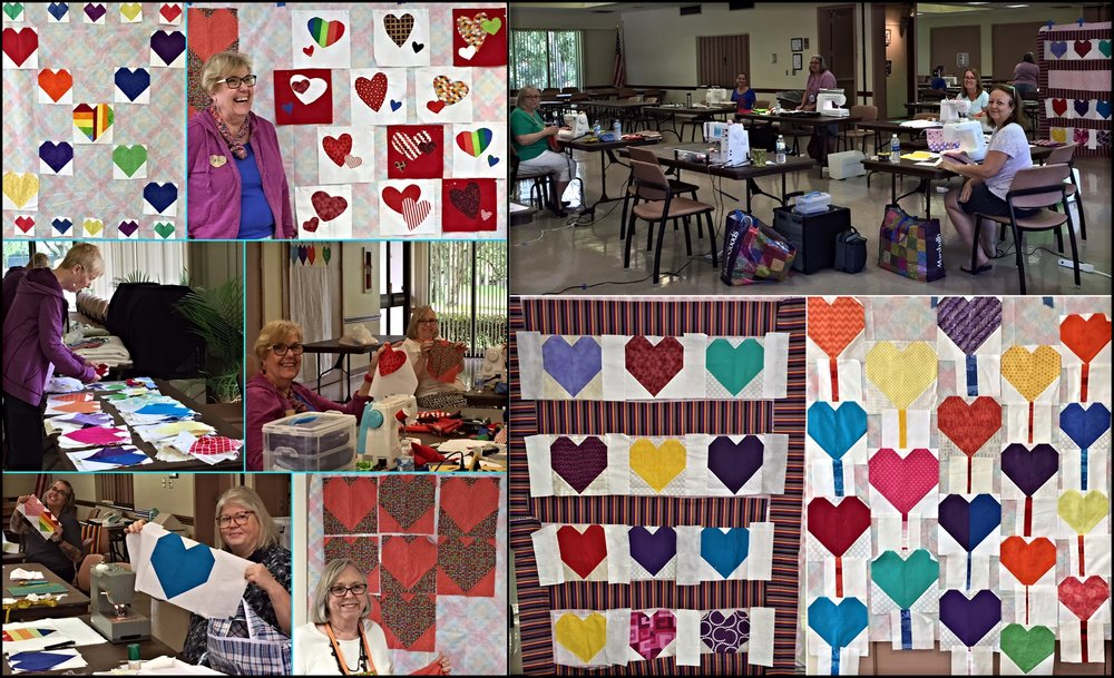 Two Sew Days working together on these quilts