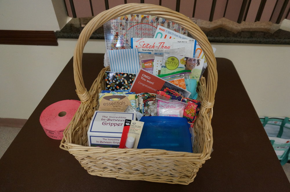 Sewtastic basket November 2016