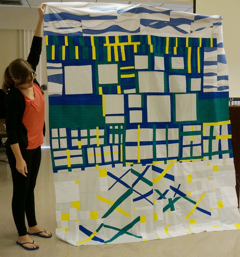 Top for Quiltcon 2017 Charity quilt