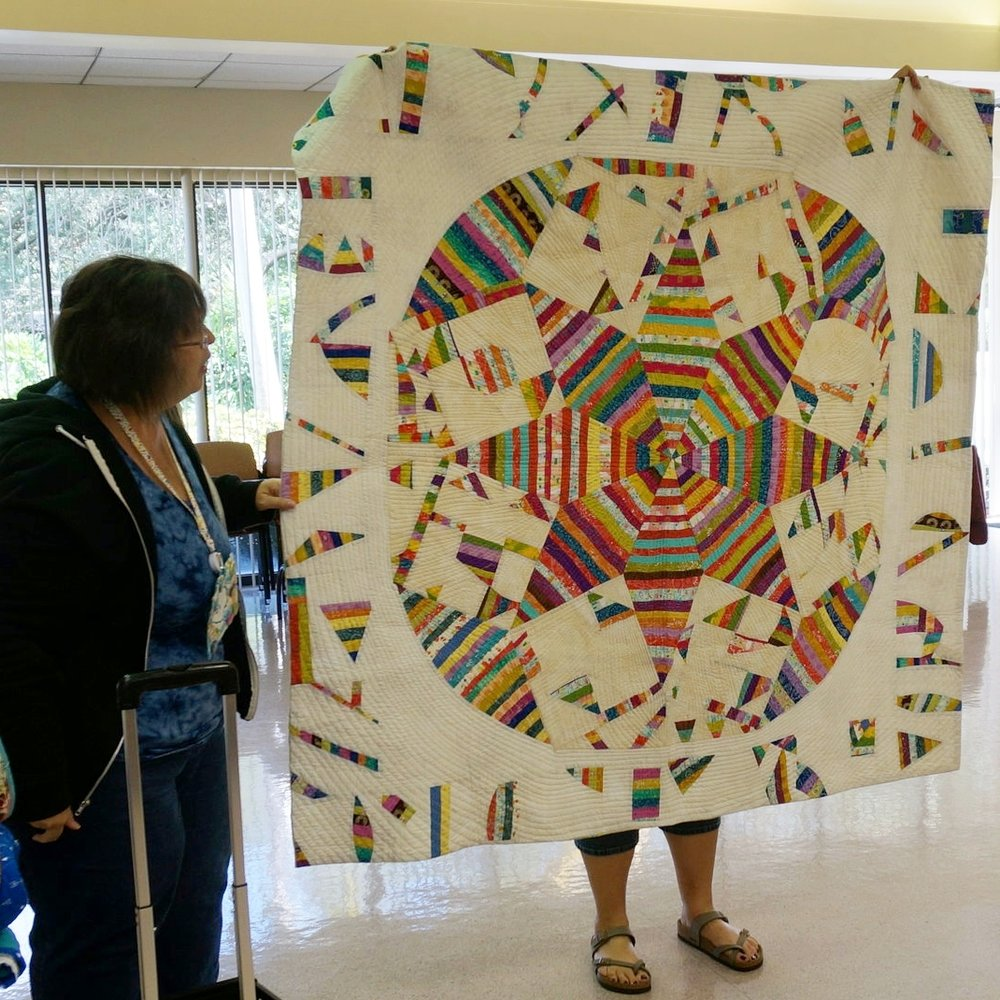 Another spectacular Patti Auten quilt