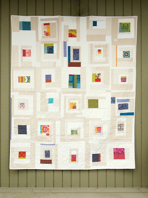 Ingrid  quilt by Krista Fleckenstein.