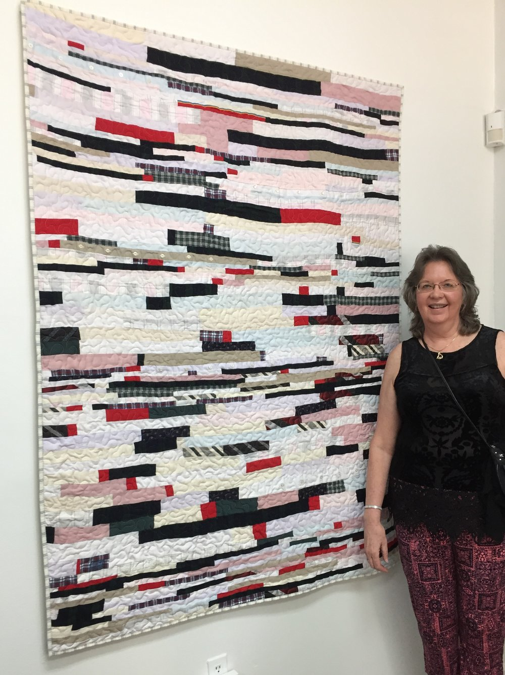FRAN: Make Do Memory Quilt  with Artist Maureen Drudi