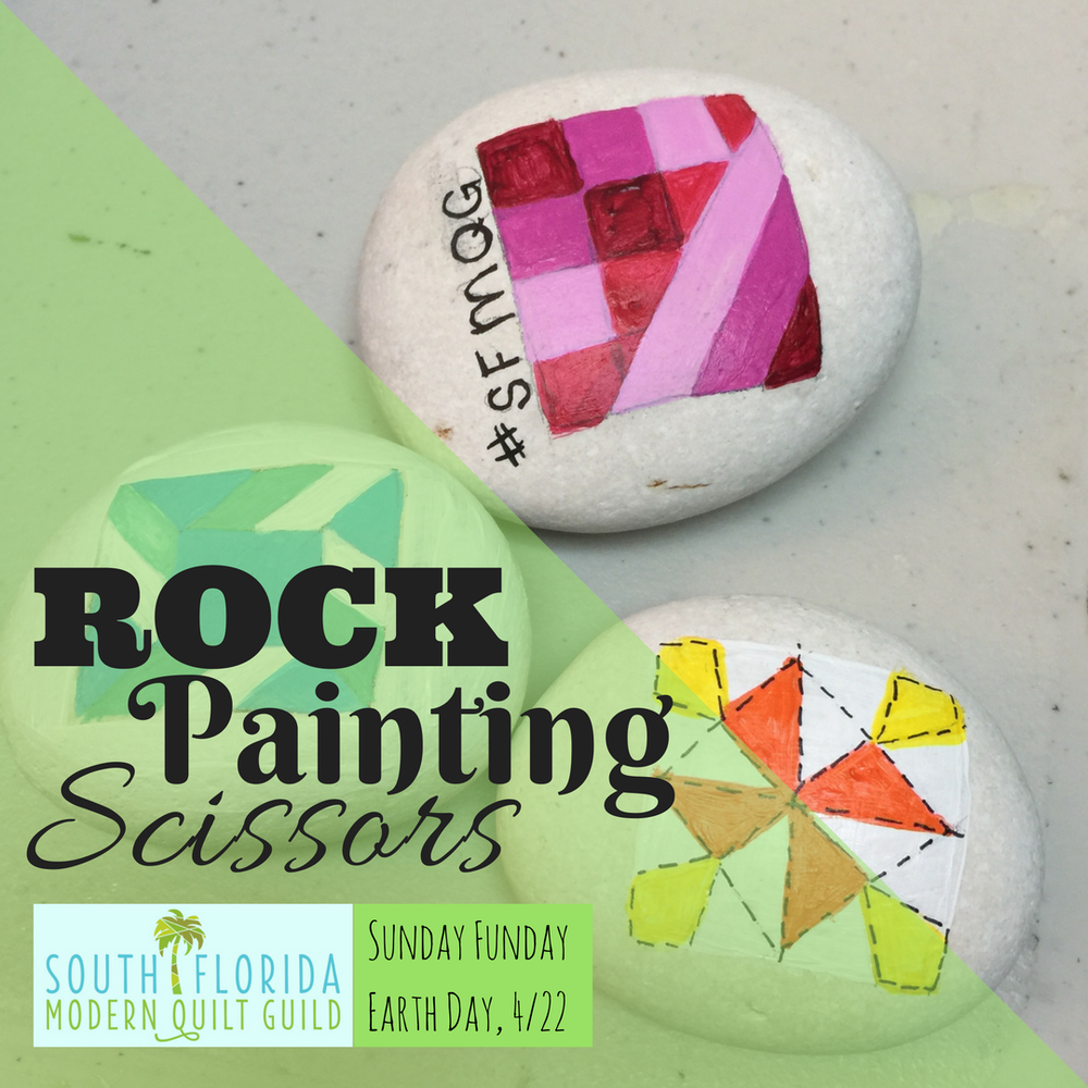 Sign up  for Rock Painting Scissors!