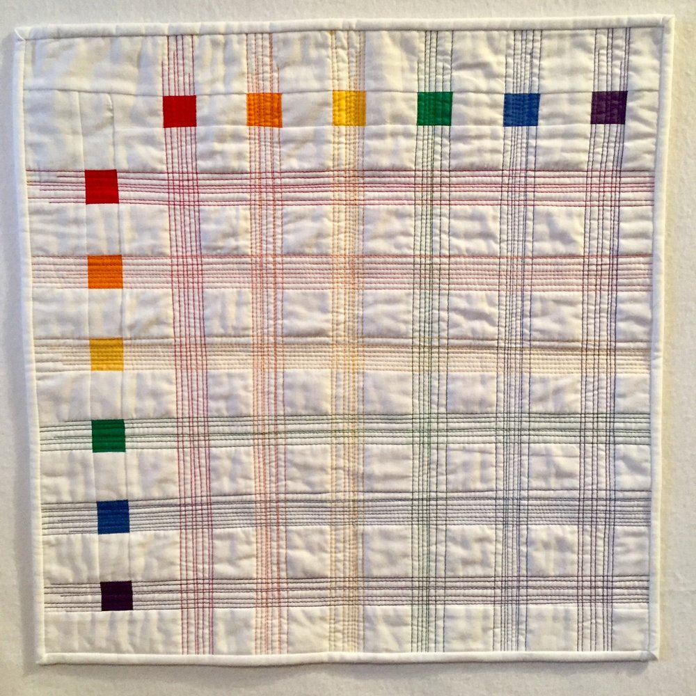 Rainbow Challenge Quilts - click for gallery