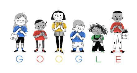 Google Celebrate British sign language with Doodle