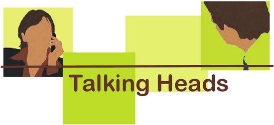 Talking Heads' first logo.