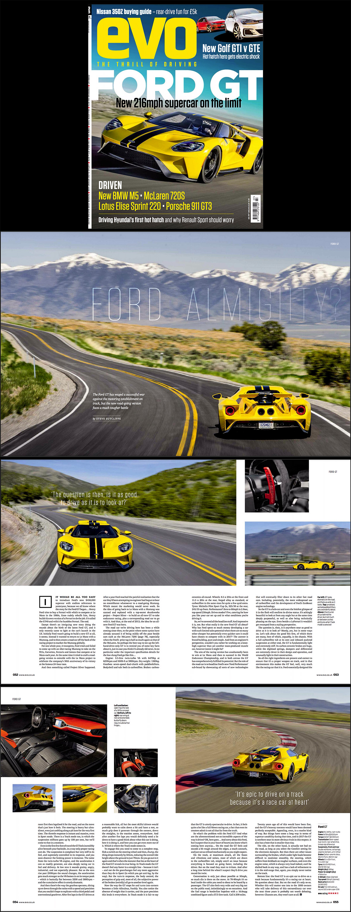 Published On The Cover Of The July  Issue Of Evo Magazine