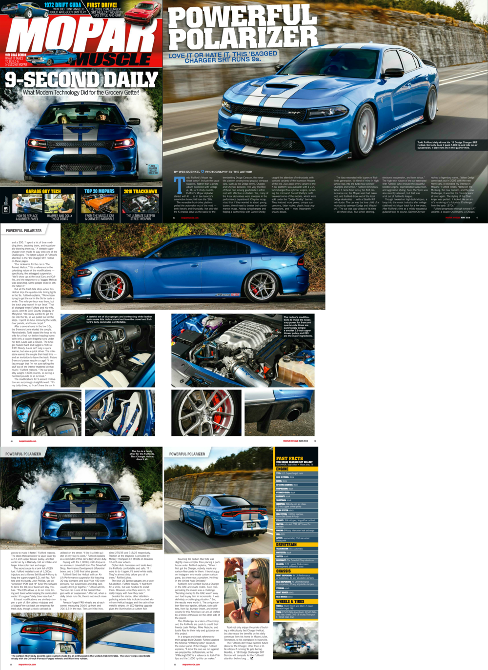 Published in the May 2018 issue of  Mopar Muscle Magazine