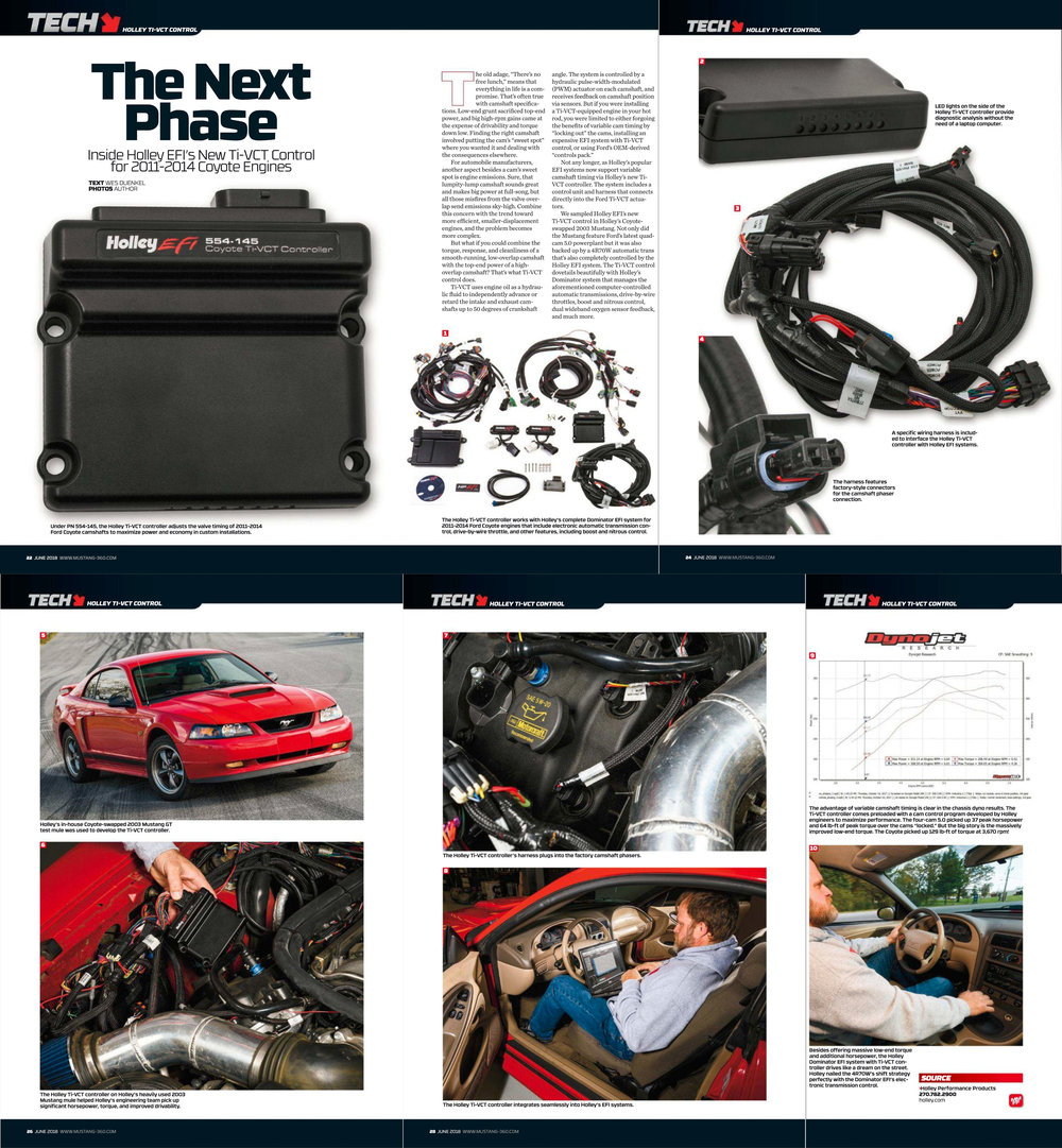 Published in the June 2018 issue of  Muscle Mustangs and Fast Fords Magazine