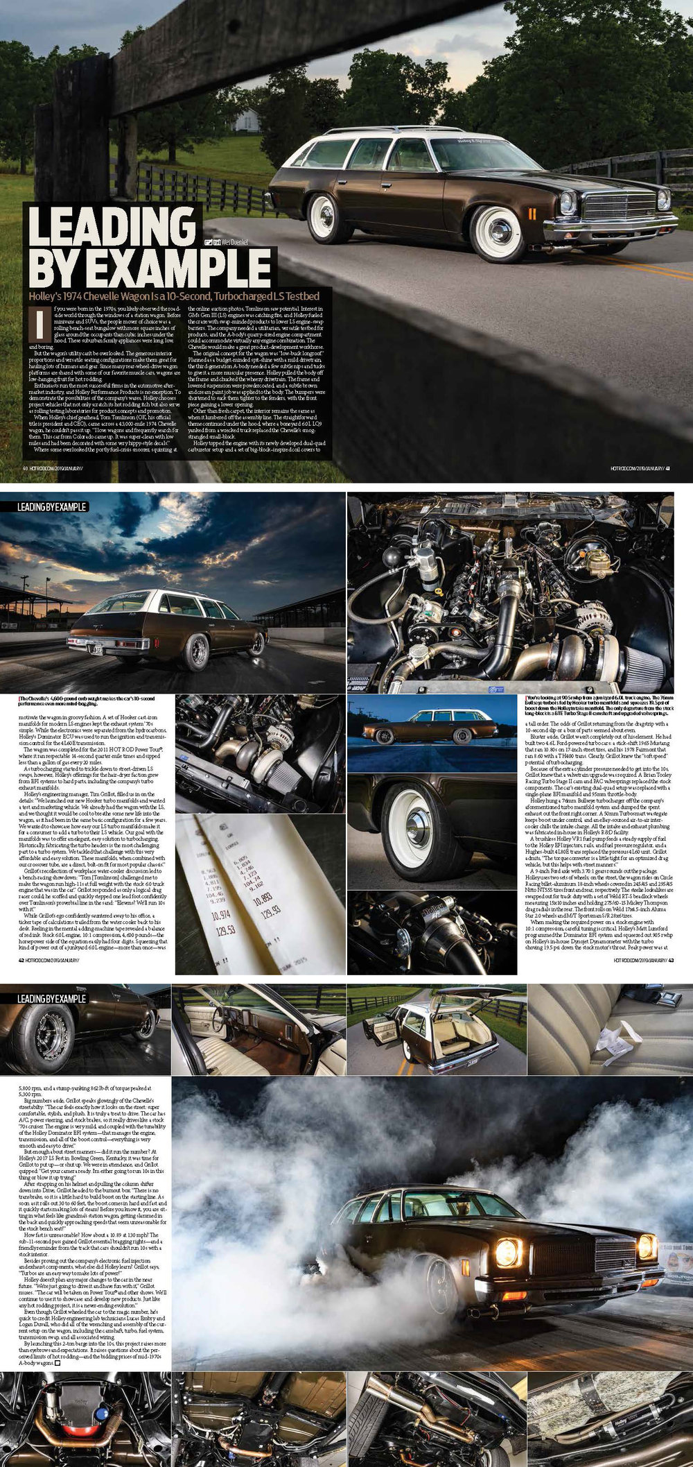 Published in the January 2019 issue of  Hot Rod Magazine