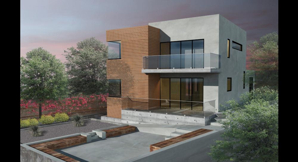 Flynn Architecture_Joseph L. Flynn, AIA Architect_Joe Flynn Architecure_Silverlake Hillside Residence_RENDERING.png