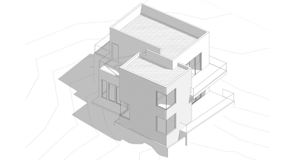 Design Development - (Axonometric) 3D-Model