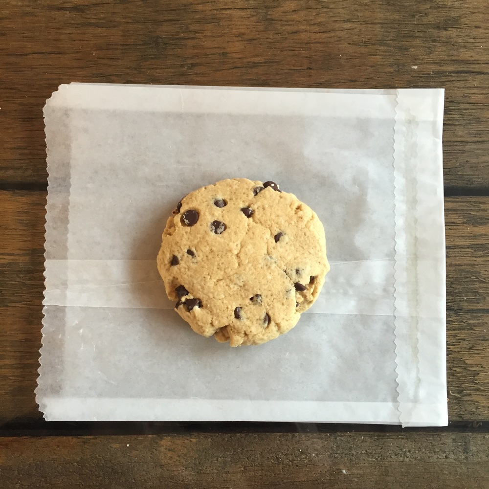 "vegan maple chocolate chip cookie from ""The Stand"" Westport, CT"