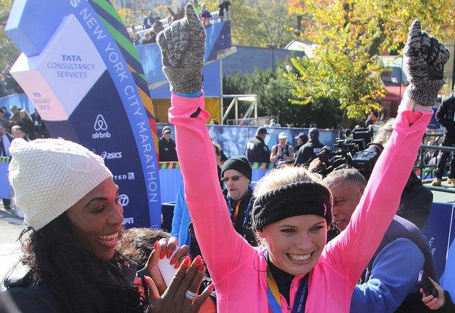 marathon winner