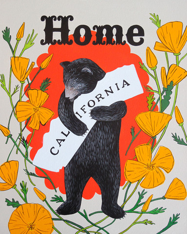 Home Sweet Home Print by 3 Fish Studios.  Click on photo for link to prints.