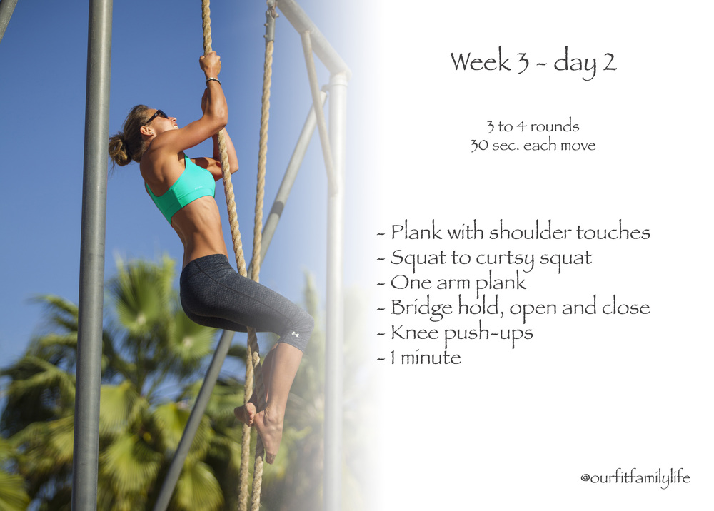 Fitness challenge ~abs,arms and legs