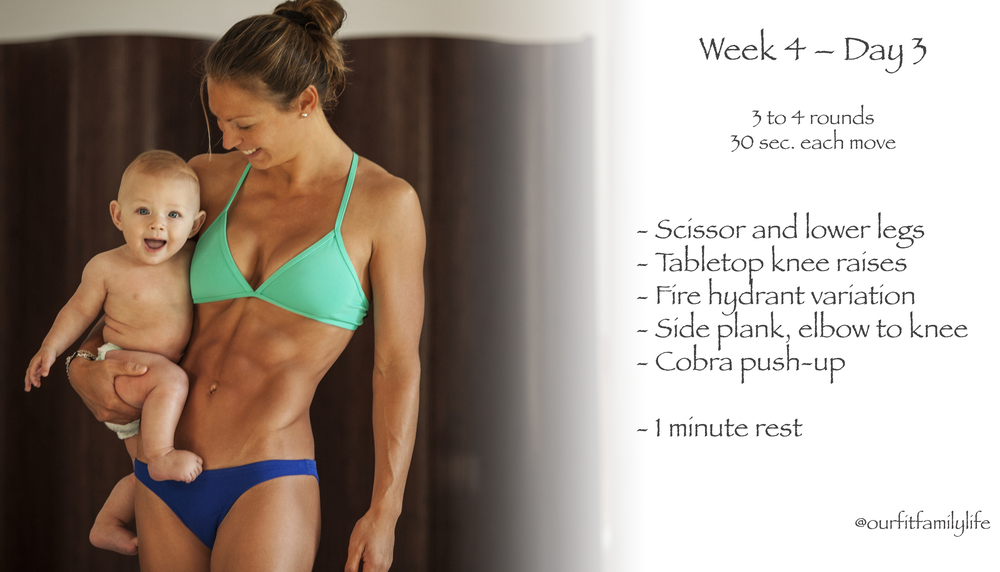 Fitness challenge ~ abs, arms and legs