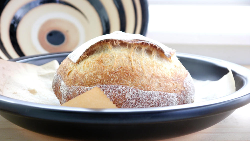 A Kitchen Blog ~ Boule baked in a Japanese donabe