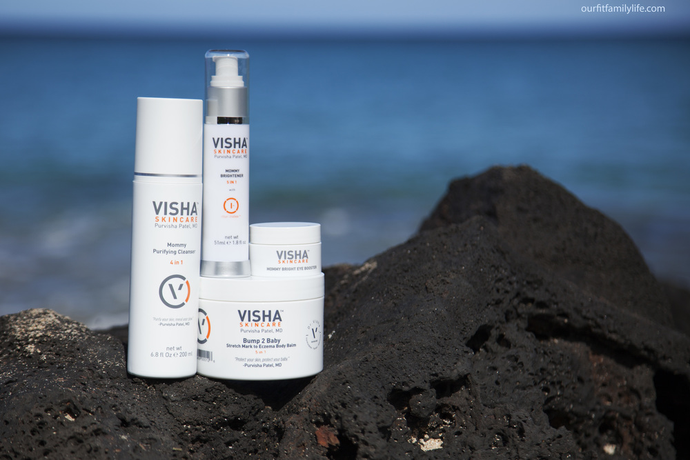 Visha Skin Care Mommy line