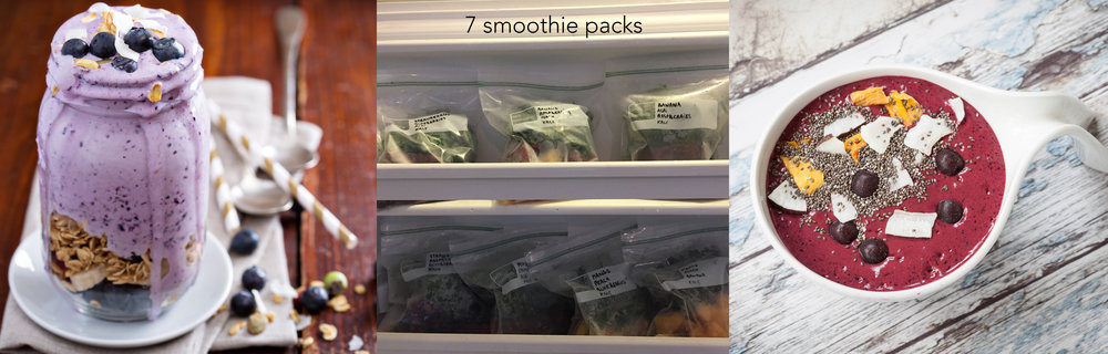pre-made frozen smoothie packs