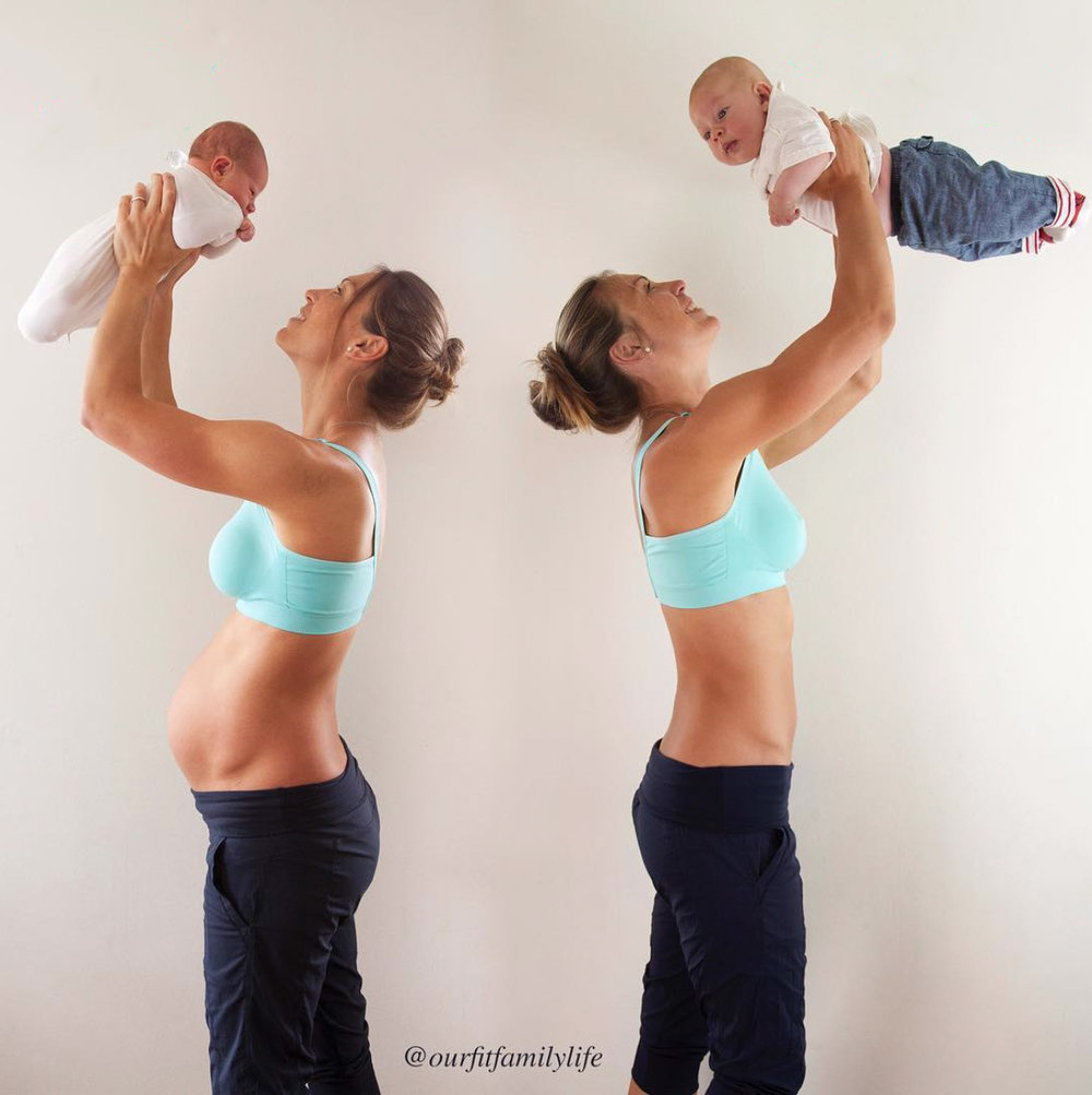 diastasis recti exercise repair - postpartum