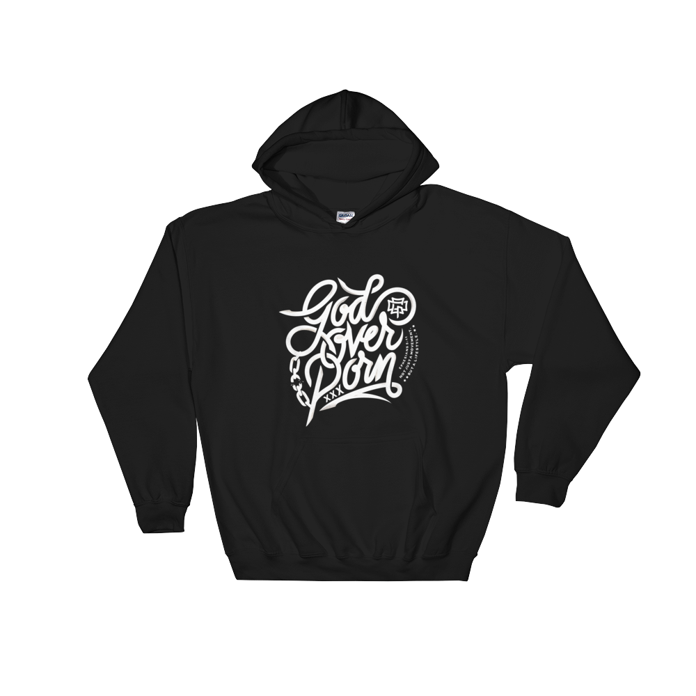 GOD OVER PORN ORIGINAL HOODIE