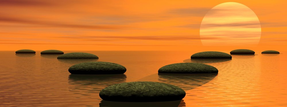 Making a choice - stepping stones, life coaching