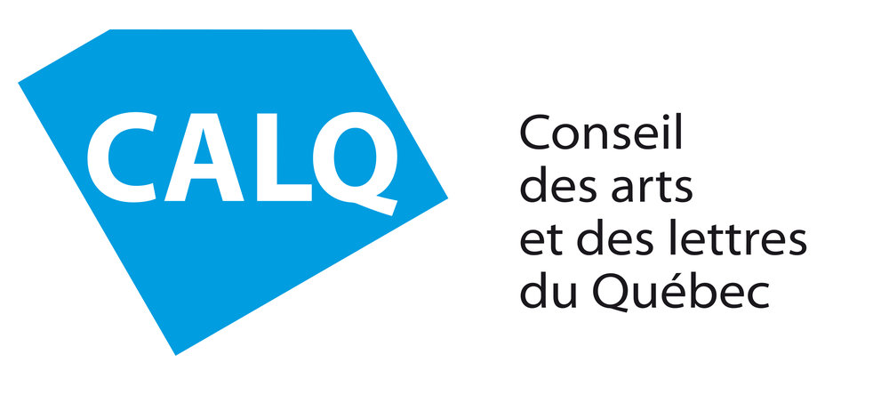 Ingrid Tremblay's work for this exhibition has been supported in part by the Conseil des arts et des lettres du Québec.
