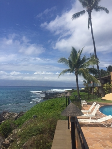 Another beautiful vista from the Napili Kai resort.