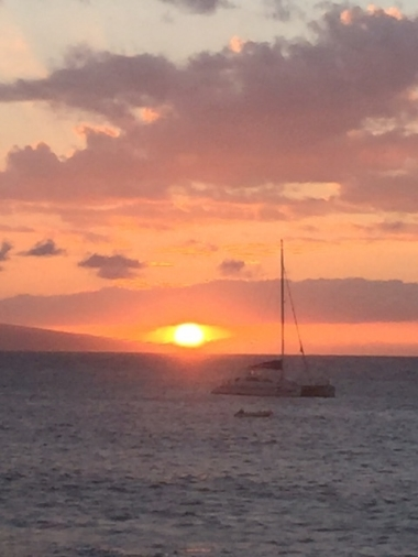 Sunset from Leilani's