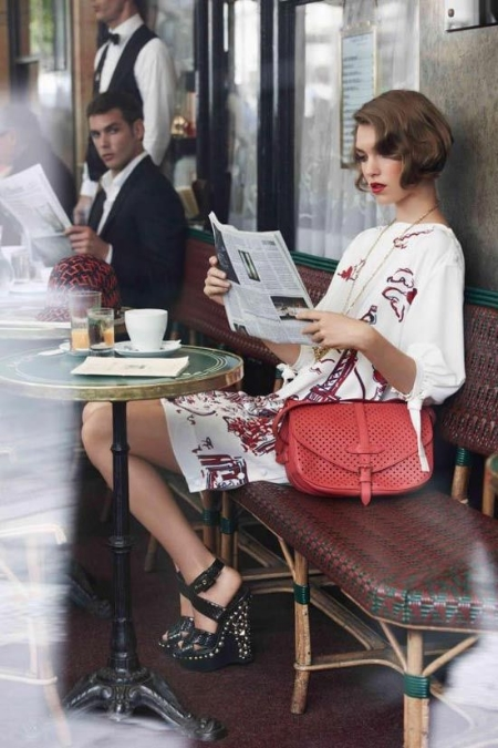 Arizona Muse for Louis Vuitton Cruise 2012 Catalogue by Mark Segal