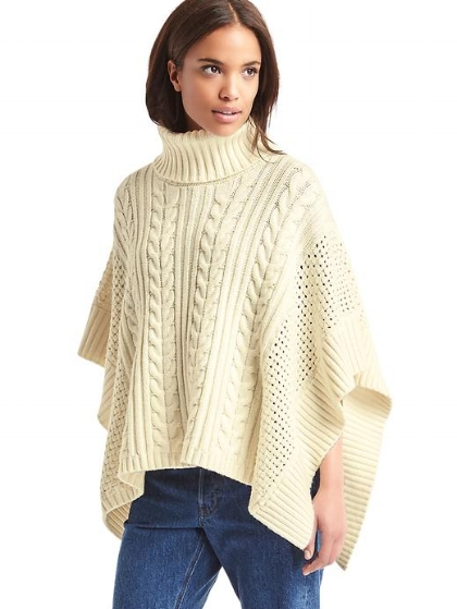 Gap Poncho...I love this!