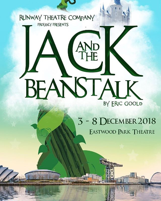Delighted to announce that our next pantomime is the one you've all #bean waiting for! #jackandthebeanstalk 3-8 December 2018 at Eastwood Park Theatre Glasgow. Tickets on sale July 1st!