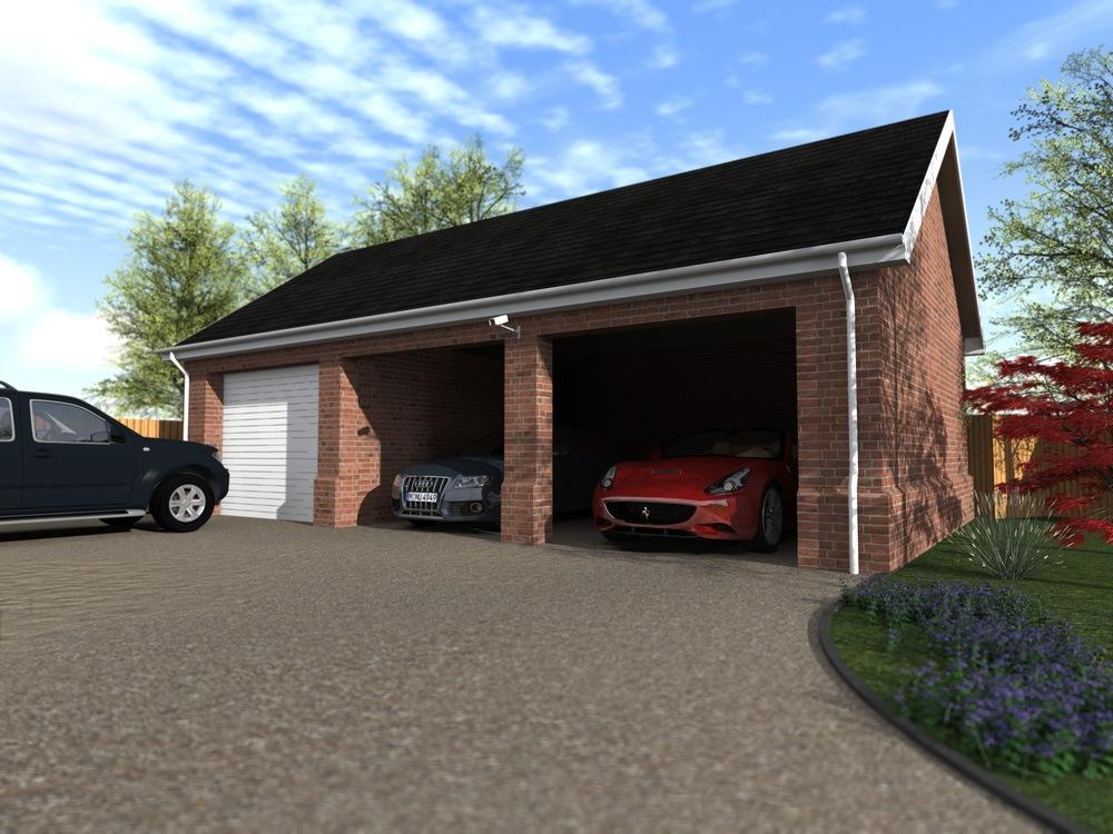 Garage En Carport : New garage carport u howes designs